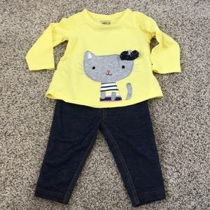 Girls Cat Outfit